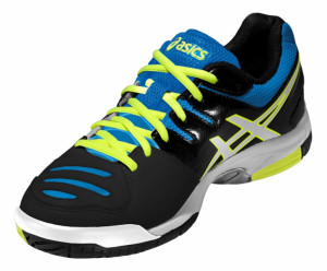 ... ASICS - Buty tenisowe dla dzieci GEL-GAME 5 GS onyx-white-atomic 3f5ea685e365d