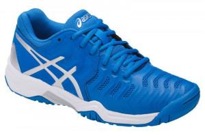 ASICS - Buty tenisowe dla dzieci GEL RESOLUTION 7 blue-white ... f439a4b11f62c